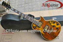Discount guitar factory china - Custom Shop Steve Jones brown electric guitar China Guitar Factory sales