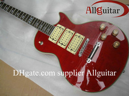 China custom RED Ace frehley signature 3 pickups electric guitar China Guitar HOT SALE suppliers