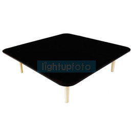 Black jewelry Boards online shopping - 30x30cm Photography Black White Reflection Board for Jewelry Shooting PSB20