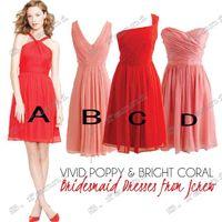 Wholesale discount columns resale online - Four Best Choice High Quality Big Discount Chiffon Bridesmaid Dresses BDS006