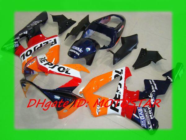 Repsol 100% Kit de carenado de ABS para HONDA CBR900RR 929 2000 2001 CBR900 929RR CBR929 00 01 CBR929RR