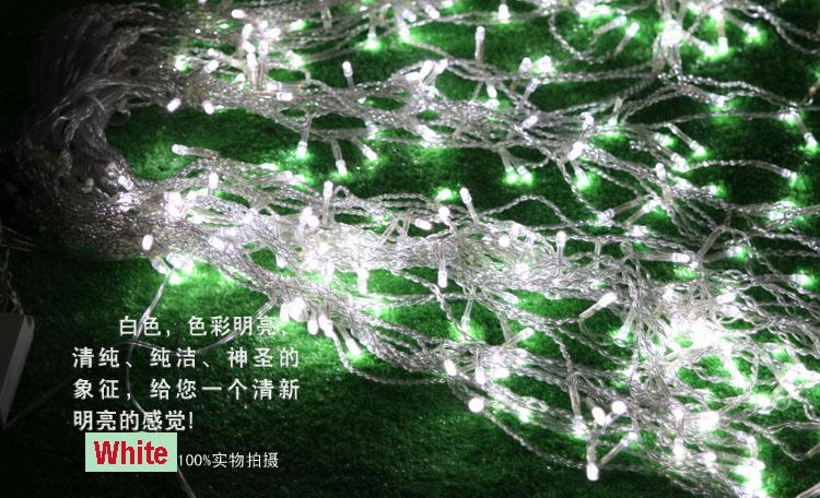 320 LED allume 10 * 0.55 ~ 0.65m Rideau Lights, lumières d'ornement de Noël imperméables, fée weddind icicle led éclairage de bande a conduit srtips