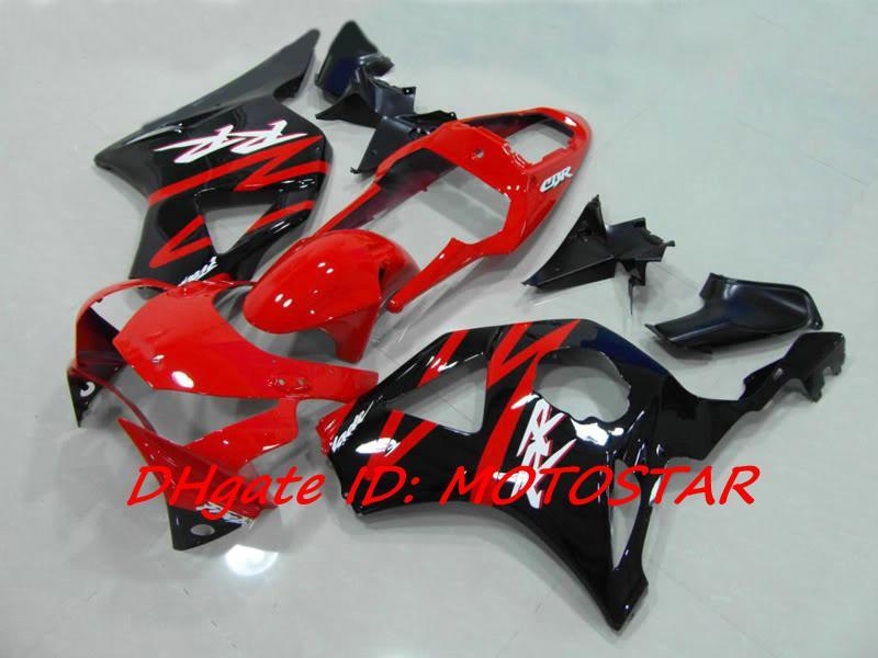Free Customize red black ABS fairing kit for HONDA CBR954RR 954 2003 2002 CBR900 954RR CBR954 02 03 CBR900RR fairings set