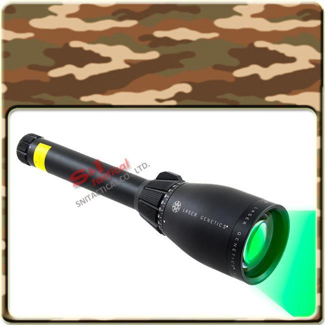 レーザーGenetics ND3 X50長距離緑色レーザー設計者