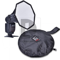 Wholesale Soft Box For Flash - Mini Octagonal Softbox Soft box for Flashgun Flash Speedlite