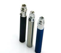 ego t preise großhandel-Promotion Preise! Multi Farben 650mAh 900mAh 1100mAh eGo TeGo W eGo C Batterie