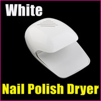 Wholesale Toe Nail Dryers - [AD310] White Nail Tools Art Equitment Portable Finger & Toe Fast Nail Polish Blower Dryer