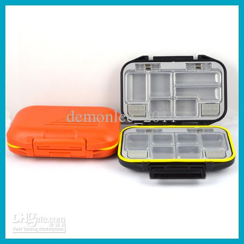 12 waterproof storage case fly fishing lure spoon hook bait tackle box