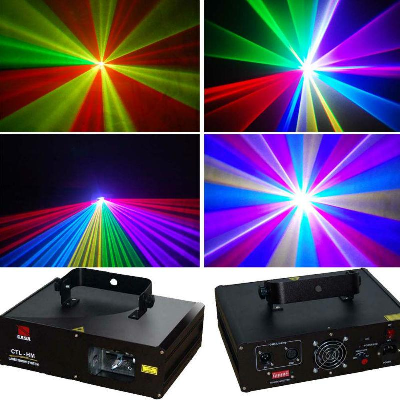 600w Rgb Laser Stage Show Lighting Projector For Club Dj