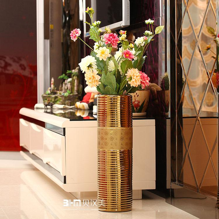 floor antique glass with vases tall for design decorating purple interior furniture home beautiful modern vase clear