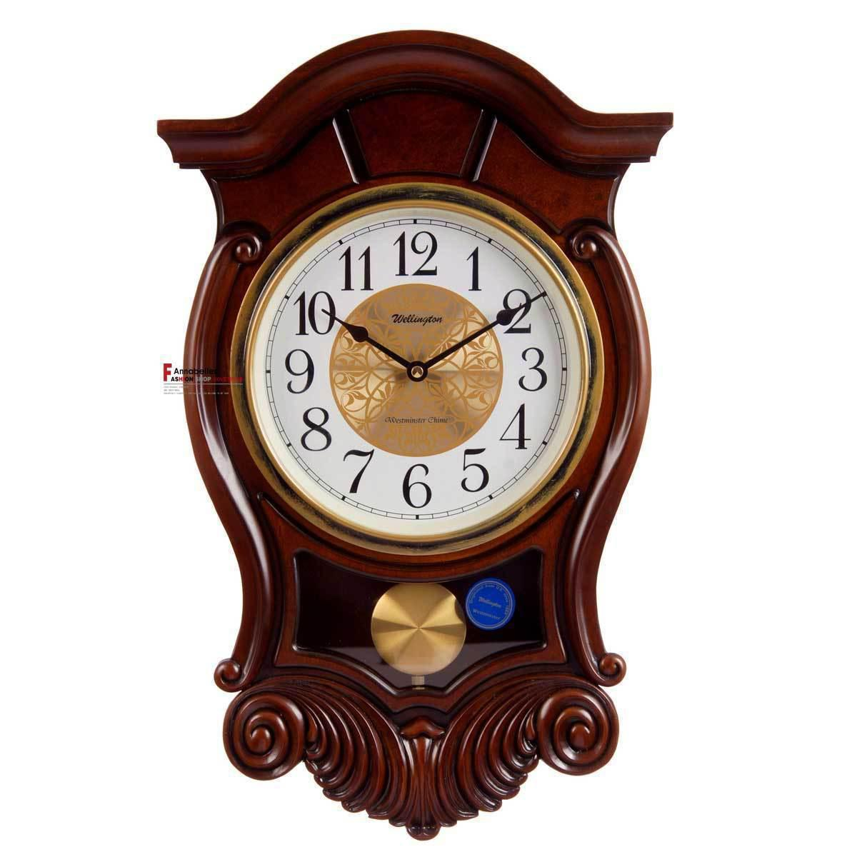 Wooden Quality The Heralds Music Wall Clock Fashion