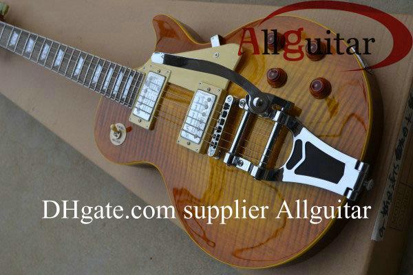 custom shop Tiger 1959 Electric Guitar Tremolo Vibrato China guitar