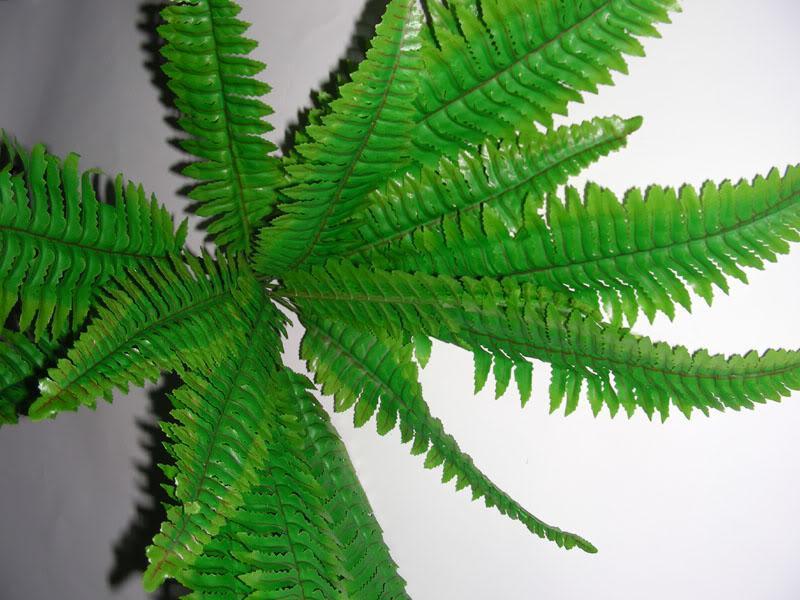 حرير بطن مصطنعة حريري بوش 14 ورقة ترتيب نباتات البطانة إجمالي الطول 38 سم ديكور منزلي جديد