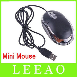 Wholesale Wire Wheels Wholesale - 50pcs lot # USB Wired Mouse Optical Scroll Wheel 3D Mice Mouse For PC Laptop Black Free Shipping
