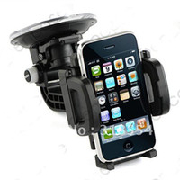 Wholesale Car Gps Lock - 30pcs lot # UNIVERSAL CAR MOUNT HOLDER FOR CELLPHONE  MP3   GPS WITH QUICK LOCK & RELEASE