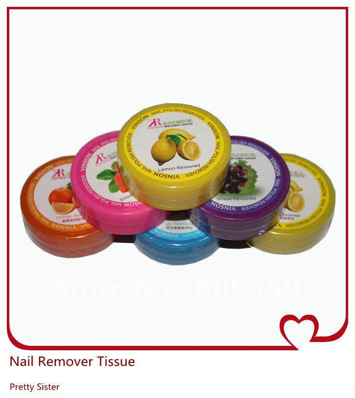 Nail Polish Remover Tissue / Nail Remover Pads For Wholesale &Amp ...