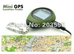 Wholesale Outdoor Deals - Super Deal Free Shipping Handheld Mini GPS Location Finder with Keychain PG03 Used for Outdoor Sport