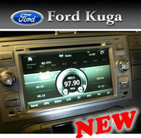 Nueva radio de coche para Ford Focus / Kuga / Tránsito con GPS / BT / TV / RDS / USB / SD / DVD / CD / IPOD / color plata / sh gratuito