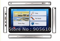 """Wholesale Cheapest Window Screens - Cheapest 7"""" HD 800*480 Touch Screen CAR GPS Navigation DDR128 FM transmitter window ce 4G card map i"""