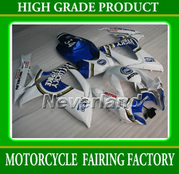 Wholesale Lucky Strike Fairings - Lucky strike for suzuki GSXR600 750 2006 2007 GSX-R K6 GSX-R600 GSXR750 06 07 fairings kit K6W