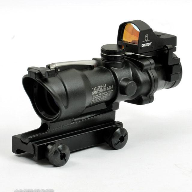 의사 자동으로 ACOG TA31 4X32 범위는 점 소총 레드 닷 riflescope 블랙 빨간색