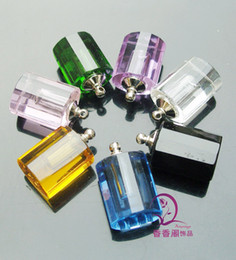 Wholesale Names Rice Wholesale - Big Hole rice vials crystal rice necklace vials Rice Jewelry Rice Vials Name On Rice