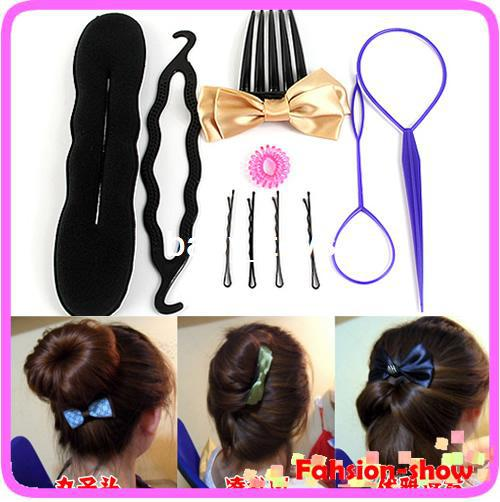 Fashion Women Girl Braider Hair Tool Elegant Cosmetology Disc Hair ...