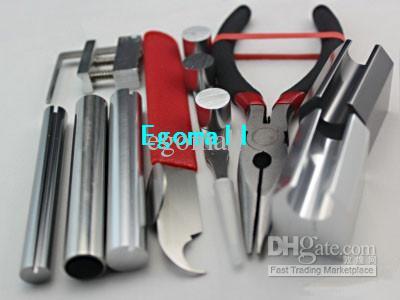잠금 분해 도구 12 개, Locksmith Tools H269