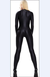 Wholesale Xxl Latex Suit - free shipping latex Sexy Suit Lycra Spandex Zentai Catsuit Costume