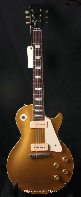 custom shop 1956 top-goldtop 2P90 PICKUPS electric guitar best Musical Instruments