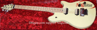 Wholesale Edward Van Halen - Free shipping cream yellow Edward Van Halen Electric Guitar