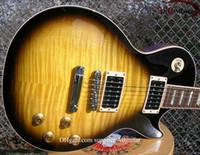 instrumentos antiguos al por mayor-Vintage Sunburst slash signature model guitarra eléctrica Instrumentos musicales