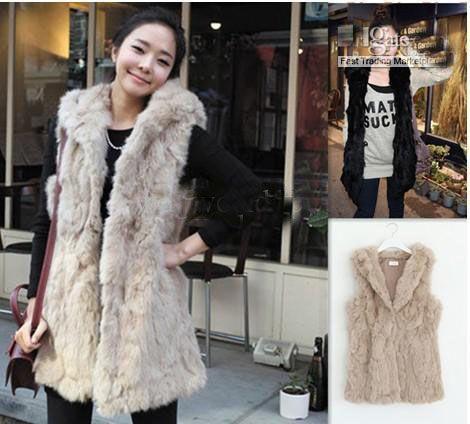 Hot Sale New Korean Women Faux Fur Warm Vest Jacket Top Winter ...