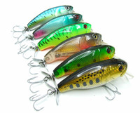 ingrosso cunei-34g 9.5cm Crank Bait Fishing Lure con Spinner Tail Hard Bait Plastic Lip Suspending