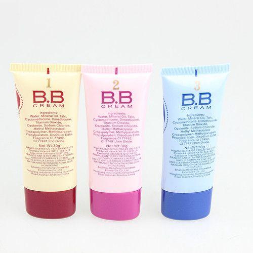 12 pçs / lote 3 cores BB Cream Make Up Base + Base Macia LighNatural Cove Hidratante 40 ml B816