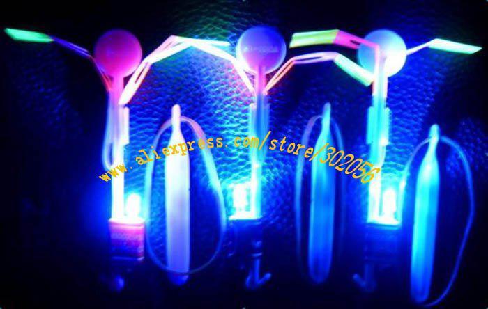 100pcs/lot Free Shipping Space UFO LED flashing Amazing arrow helicopter WJ003p