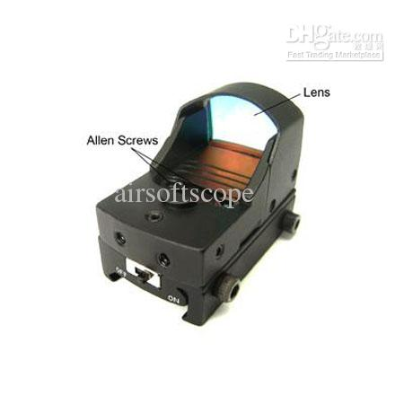 Airsoft Micro Reflex Switch Red Dot Doctor Sight
