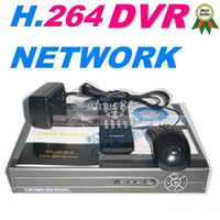 Wholesale H 264 Network Dvr Price - Best Price!!Full D1 4CH H.264 Real Time Network Security CCTV DVR Digital Video Recorder support Rus