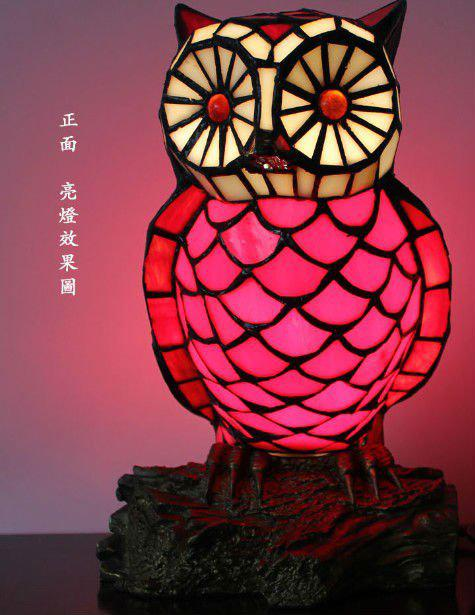 2017 Tiffany Night Lamps With Owl Style Table Lamp.Ysl Td0102,From  Artemide, $130.13 | Dhgate.Com