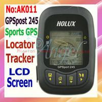 Wholesale Data Logger Gps - HOLUX GPS port 245 GPS receiver stopwatch locator for bike Data Logger+range finder+code table+gps t