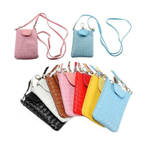 Cool Lady Cell Mobile Phone Pu Leather Pouch Bag Case For Iphone 4 ...