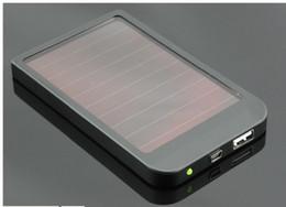 2600mAh Puissance Banque USB Chargeur Panneau Solaire Batterie pour MID MP3 MP4 PDA Téléphone Livraison gratuite + Détail B