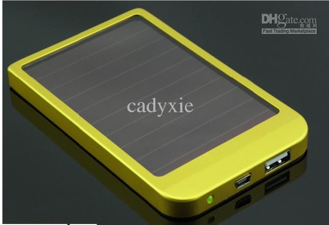 2600mAh Power Bank USB Solar Panel Charger Battery for MID MP3 MP4 PDA Phone Free shipping +Retail B