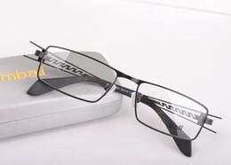Wholesale Cheap Black Eyeglass Frames - eyewear glass frames mens eye frame metal men glasses cheap optical eyeglass black color fashion cool good quality drop shipping