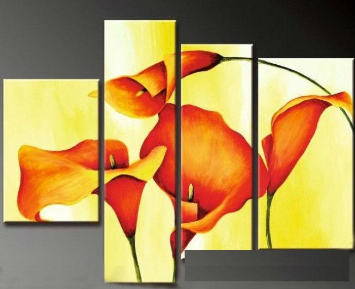 Oil painting canvas abstract flower yellow background modern home oil painting canvas abstract flower yellow background modern home decoration wedding gift wall art abstract oil painting flower oil painting oil painting mightylinksfo