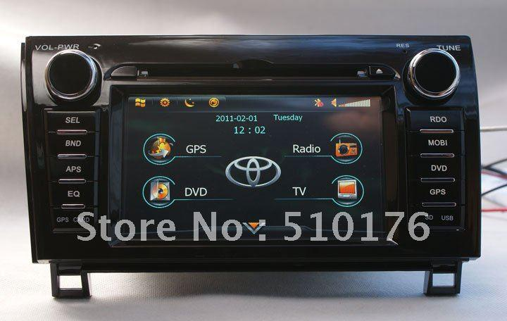 2019 Gps Toyota Tundra Auto Dvd In Dash Car With Dvd
