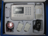 Wholesale Net Stores - Door, Store, PSTN AND GSM Wireless Burglar Alarm Security System, Double nets,Voice available S914