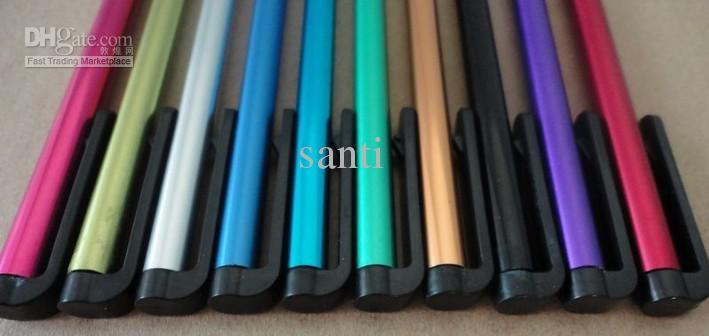 God kvalitet Högkänslig Universal Färg Touch Pen Kapacitet Skärm Styluspenna för Smart Phone IPA
