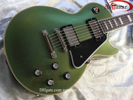 $enCountryForm.capitalKeyWord Canada - custom shop green guitar metallic green colour ebony fingerboard electric guitar Chinese guitars