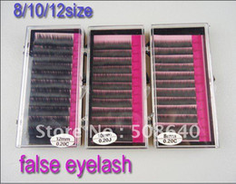 Wholesale Wholesale Eyelash Products - 8 10 12mm size 0.2mm MINK Artificial Flase Eyelash Extension Accessories For Make-up Beauty Products